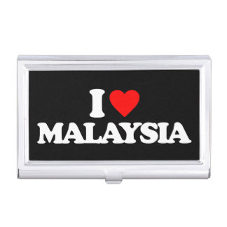I LOVE MALAYSIA BUSINESS CARD CASES