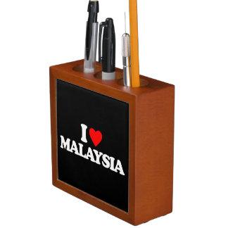 I LOVE MALAYSIA Pencil/Pen HOLDER