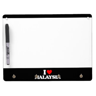 I LOVE MALAYSIA Dry-Erase BOARDS