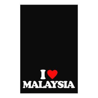 I LOVE MALAYSIA FLYERS