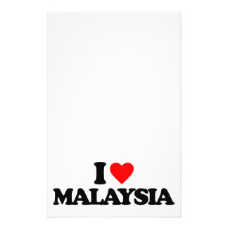 I LOVE MALAYSIA FULL COLOR FLYER