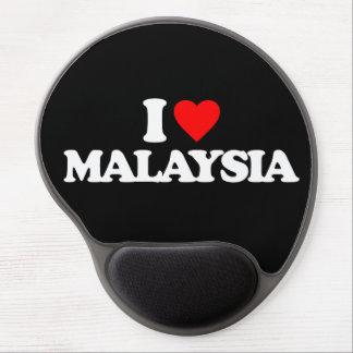 I LOVE MALAYSIA GEL MOUSE PAD
