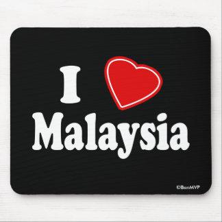 I Love Malaysia Mouse Pad