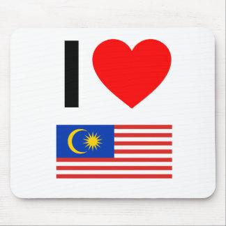 i love malaysia mousepad