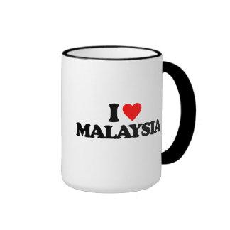 I LOVE MALAYSIA RINGER MUG