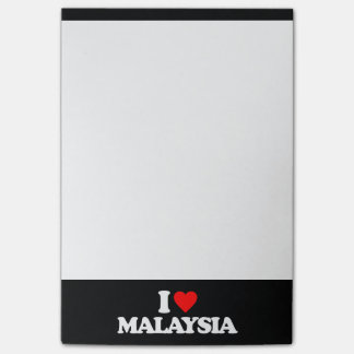 I LOVE MALAYSIA POST-IT® NOTES