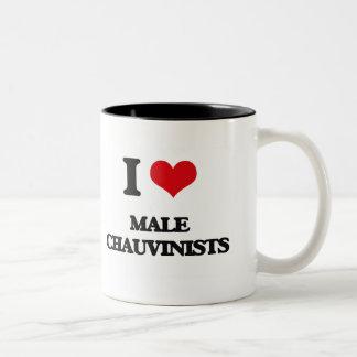 I Love Male Chauvinists Coffee Mugs