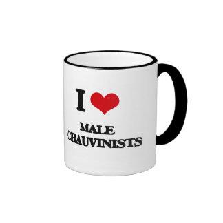I Love Male Chauvinists Coffee Mug
