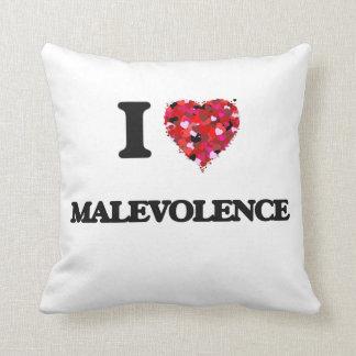 I Love Malevolence Throw Cushions