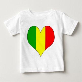 I Love Mali Baby T-Shirt