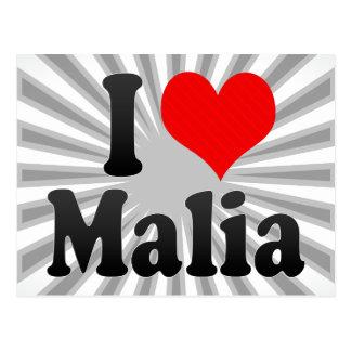 I love Malia Postcard