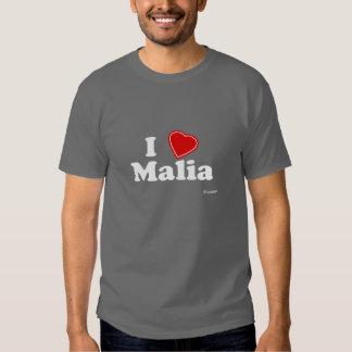 I Love Malia Tee Shirt