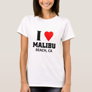 I love malibu beach T-Shirt