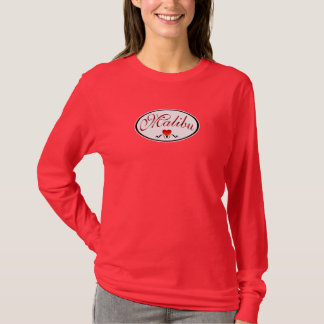 I Love Malibu Fashion T-Shirt
