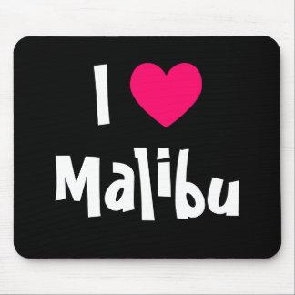 I Love Malibu Mouse Mat