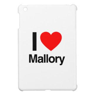 i love mallory iPad mini cover
