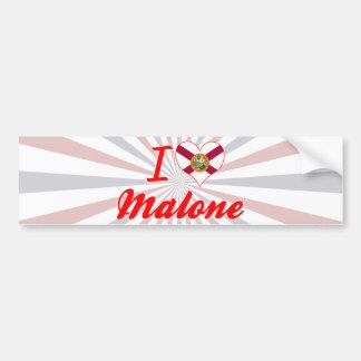 I Love Malone, Florida Bumper Stickers