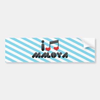 I Love Maloya Bumper Stickers