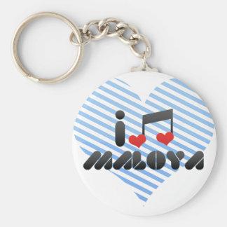 I Love Maloya Keychain