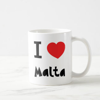 I love Malta Coffee Mug