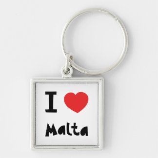 I love malta key ring