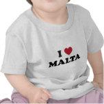 I Love Malta Tees