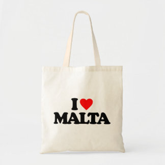 I LOVE MALTA TOTE BAG