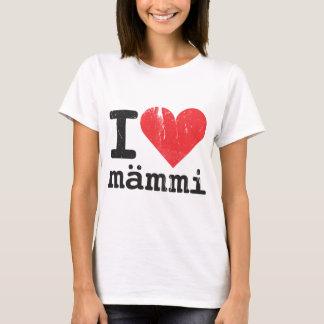 I Love Mämmi Women's Fitted T-shirt