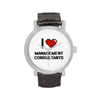 I love Management Consultants Wrist Watches