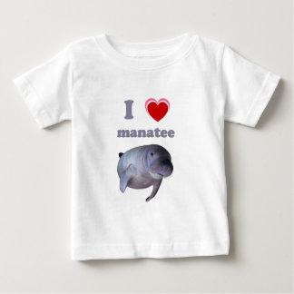 I Love Manatee Baby T-Shirt