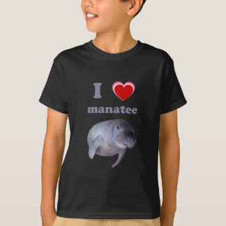 I Love Manatee T-Shirt
