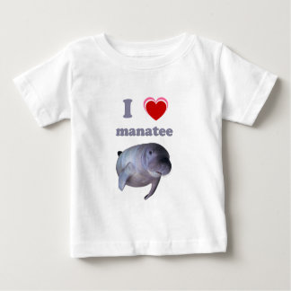 I Love Manatee T-shirts