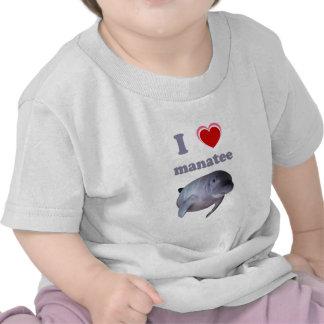 I Love Manatee Tshirts