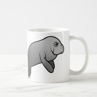 I Love Manatees Basic White Mug
