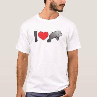 I Love Manatees T-Shirt