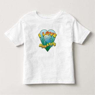 I Love Manatees Tee Shirt