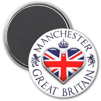 I Love Manchester 7.5 Cm Round Magnet