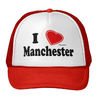 I Love Manchester Cap