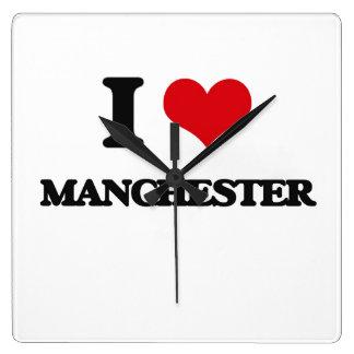 I love Manchester Clocks