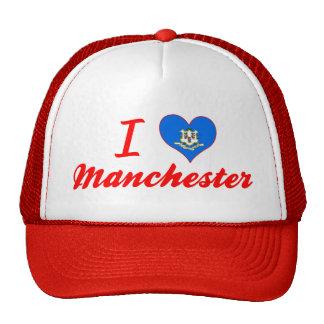 I Love Manchester, Connecticut Trucker Hat