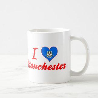 I Love Manchester, Connecticut Mug