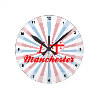 I Love Manchester, Georgia Clock