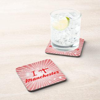 I Love Manchester, Georgia Drink Coaster