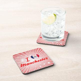I Love Manchester, Iowa Beverage Coasters