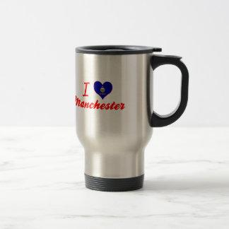 I Love Manchester, Kansas Mug