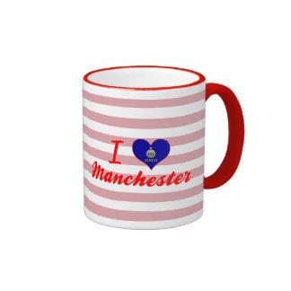 I Love Manchester, Kansas Mugs