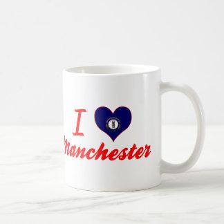 I Love Manchester, Kentucky Coffee Mug