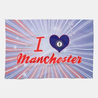 I Love Manchester, Kentucky Towels