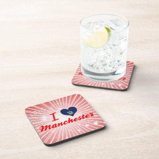I Love Manchester, Maine Beverage Coaster