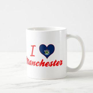 I Love Manchester, Maine Coffee Mug